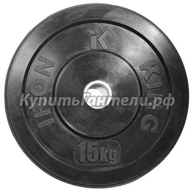 Блин для кроссфита (бампер) 15 кг (d51)