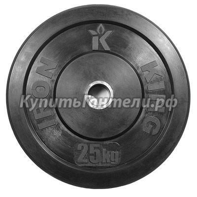 Блин для кроссфита (бампер) 25 кг (d51)