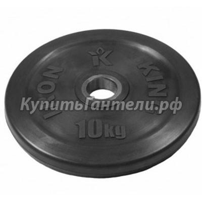 Блин обрезиненный  Евро-Классик 10 кг (d51)