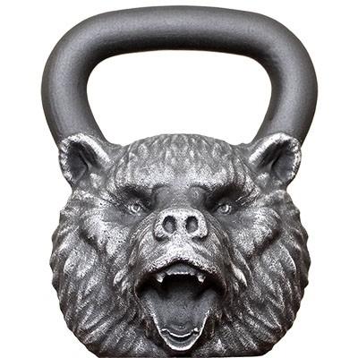 """Гиря дизайнерская """"Медведь"""" (16 кг, 24 кг, 32 кг)"""